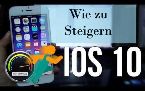 Oben 10 Freie Methoden zu beschleunigen Langsam IOS 10, iOS 10.1 auf dem iPhone iPad