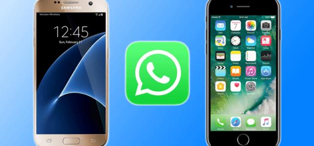 Wie Übertragen WhatsApp Nachrichten Von Android auf iPhone 6