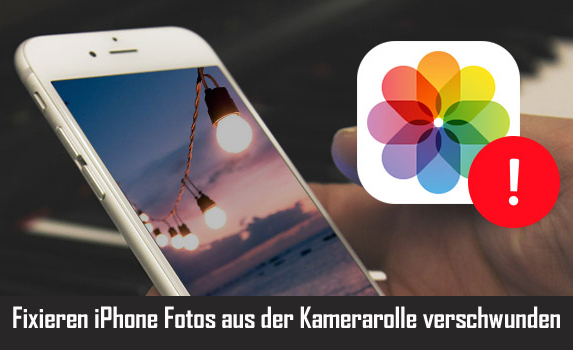 Fixieren iPhone Fotos aus der Kamerarolle verschwunden