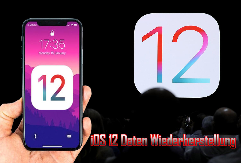 iOS 12 Daten Wiederherstellung