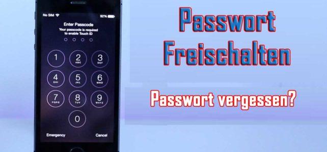 Wie man Entsperren iPhone/iPad/iPod Touch Passwort ohne Wiederherstellen