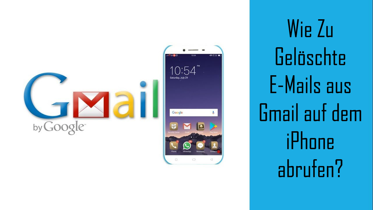 Wie Zu Gelöschte E-Mails aus Gmail auf dem iPhone abrufen