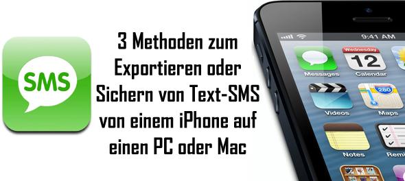 Esportare o eseguire il backup dei messaggi di testo dell iPhone su PC o Mac