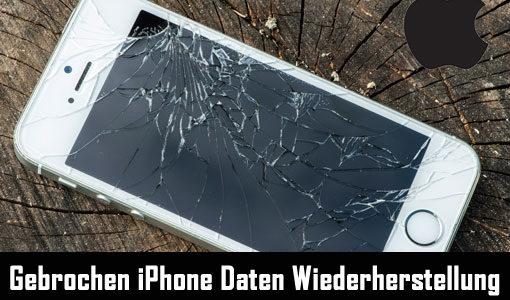 Defektes iPhone Datenrettung: Wiederherstellen von Daten vom defekten iPhone