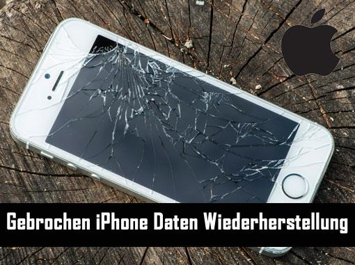 Gebrochen iPhone Daten Wiederherstellung